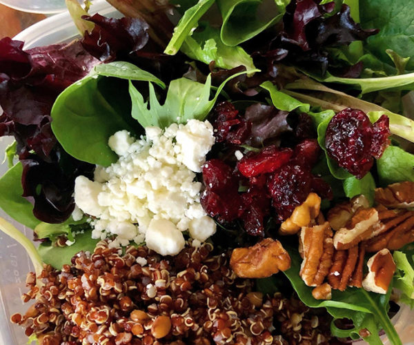 Cranberry-Quinoa Winter Salad